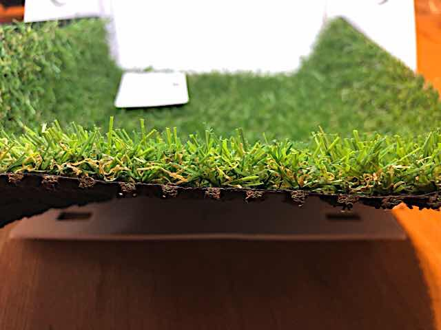 100均人工芝品質