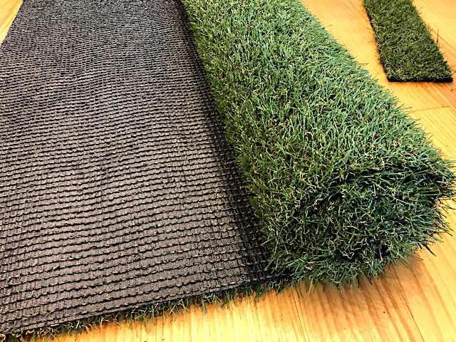 アイリスオーヤマの人工芝防草シート