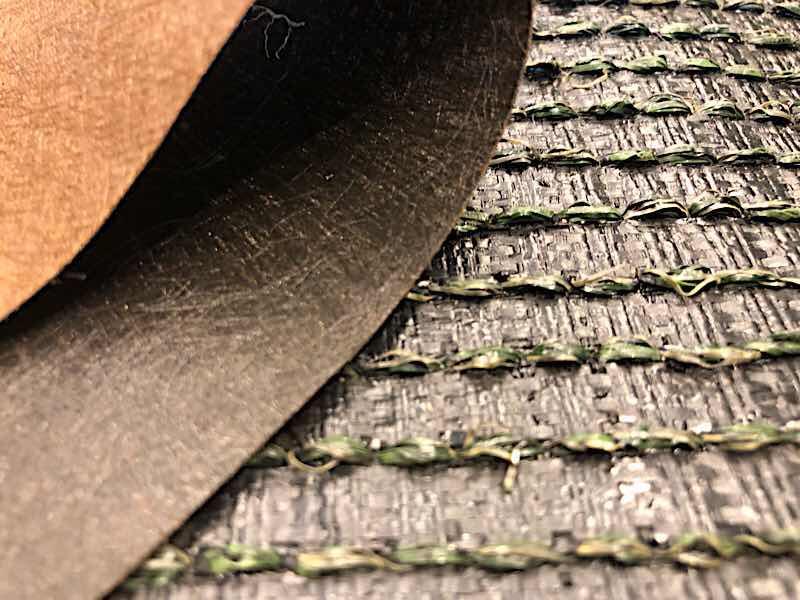 防草シート付人工芝
